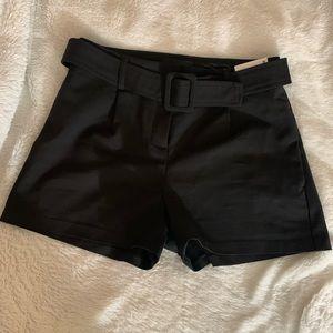 NWT Black Express Shortie High Rise Shorts 0